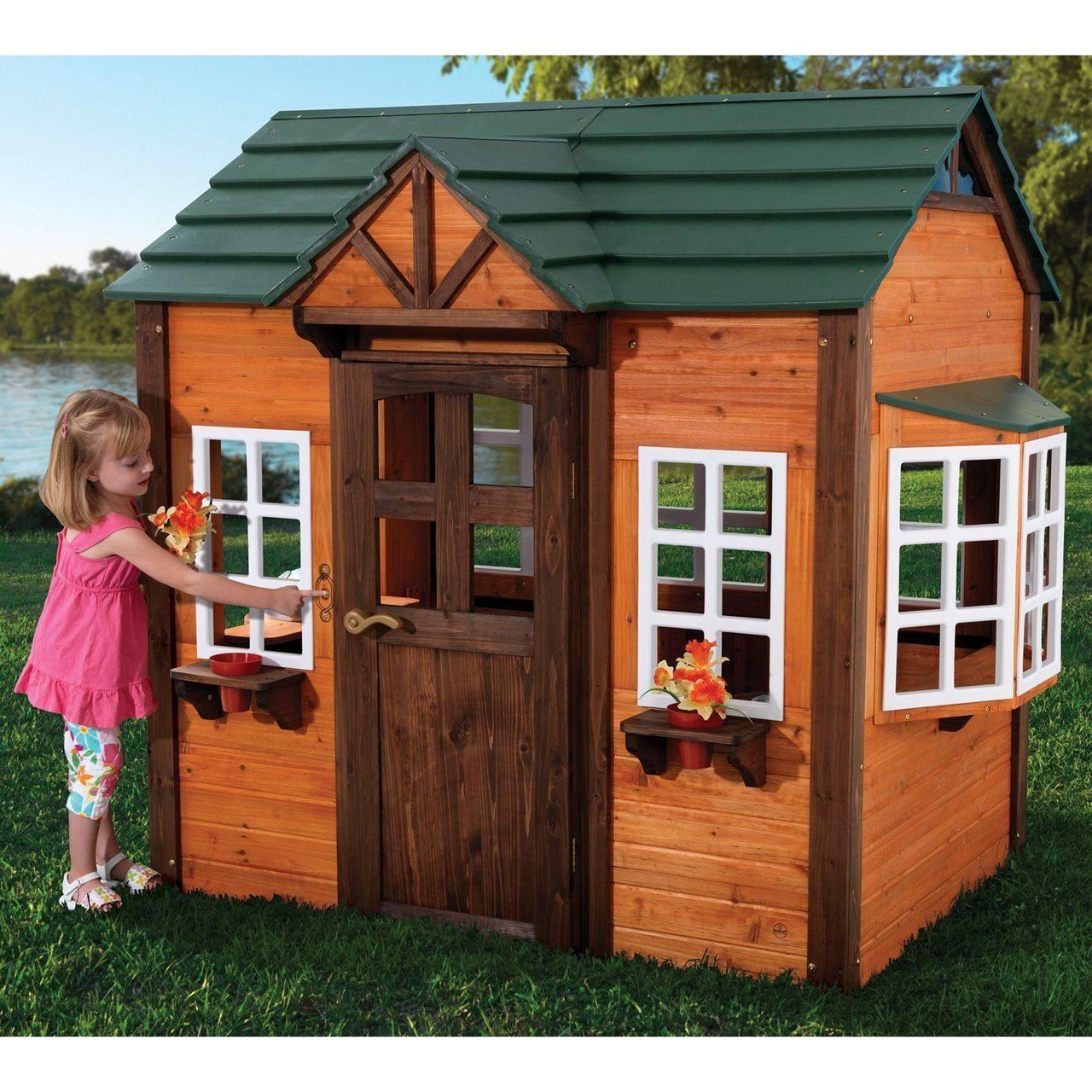 Детский домик для девочки своими руками