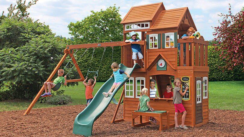 Игровой комплекс для детей на улице