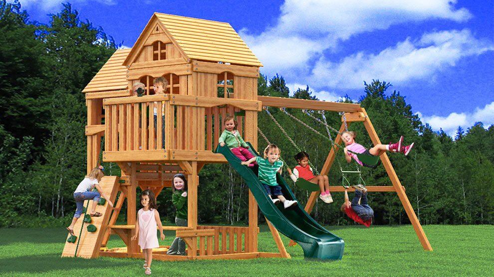 деревянные игровые домики распродажа плотики