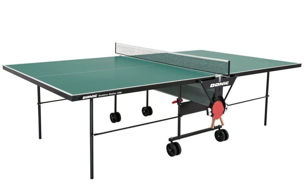 Теннисный стол Donic Outdoor Roller 300 зеленый 97ff66c48575f