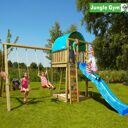 Детский городок Jungle Gym Villa + SwingModule Xtra