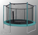 Батут — Clear Fit Elastique 8ft (2,4м)